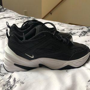 Nike Tekno sneakers black and white